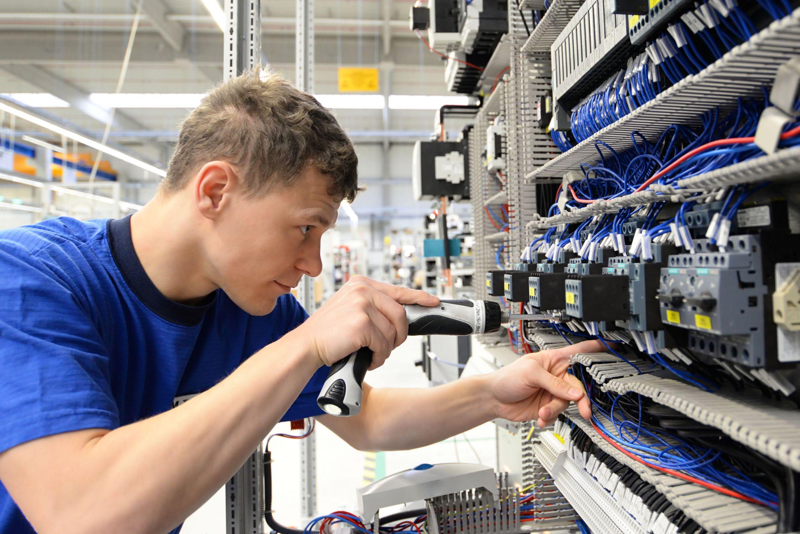 Elektroniker der Betriebstechnik